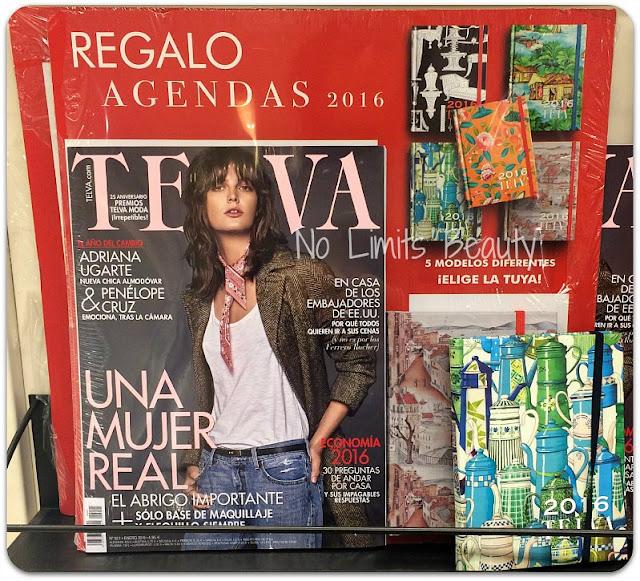 Regalos revistas enero 2016: Telva