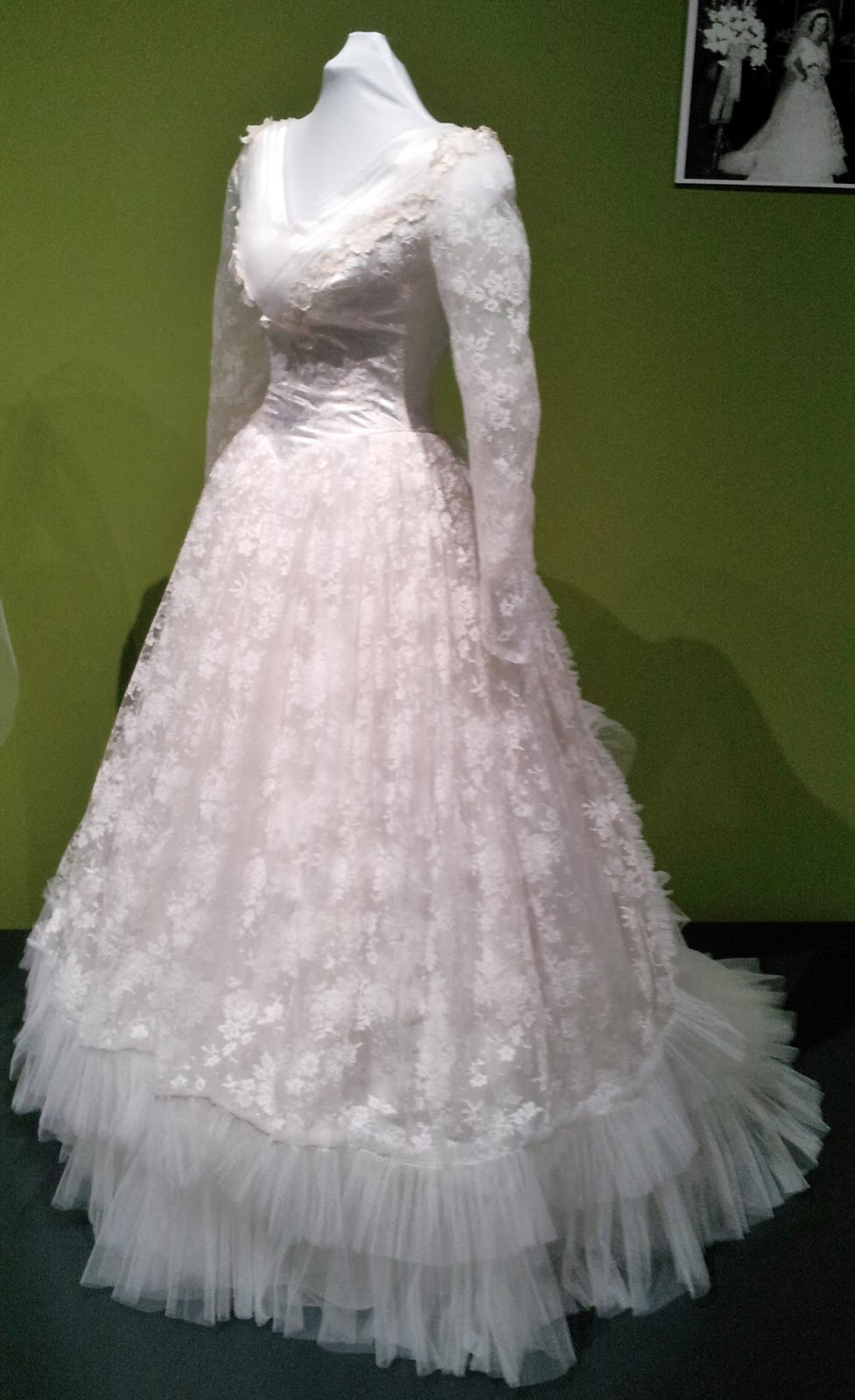 Pintucks Wedding Gowns from the 1940s and 1950s