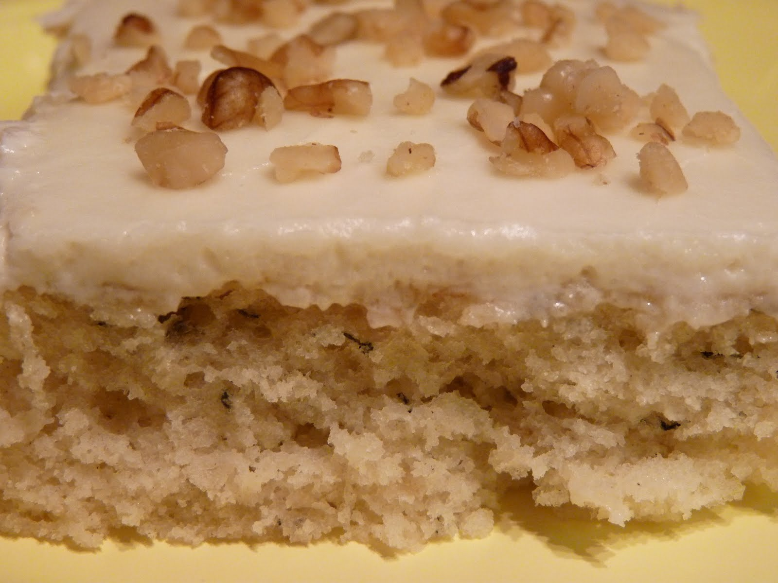 Fantastic Family Favorites: Sour Cream Banana Sheet Cake