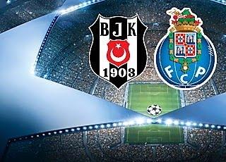 21 de novembro, 17h: Besiktas X FC Porto