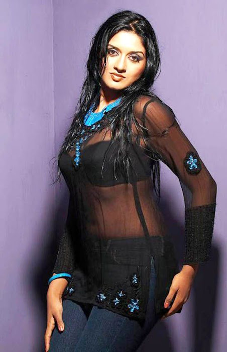 vimala raman transparent dress actress pics