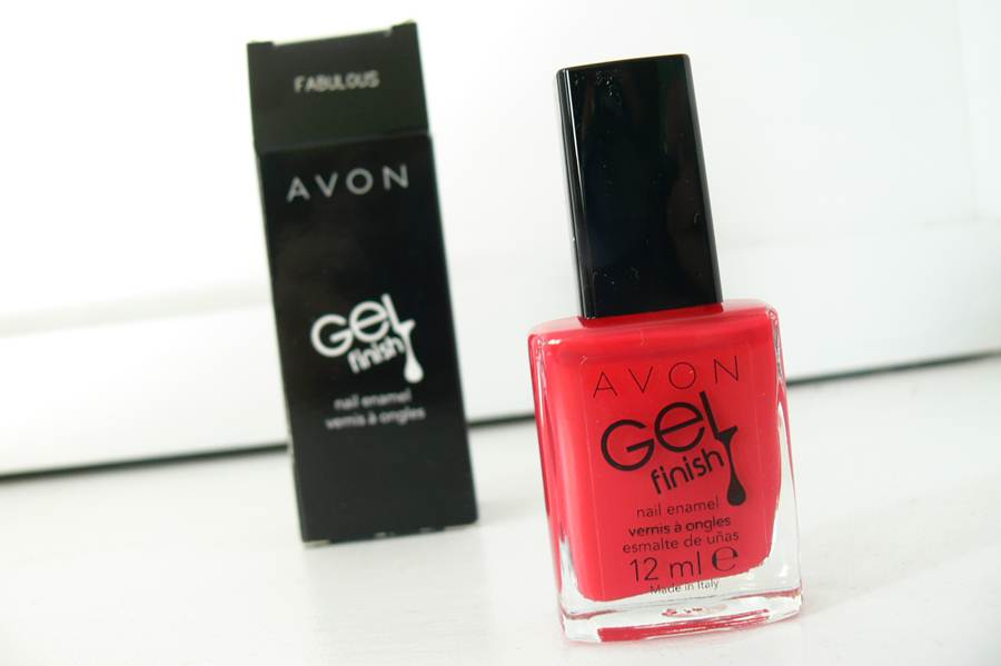 Avon Gel Finish Fabulous opakowanie
