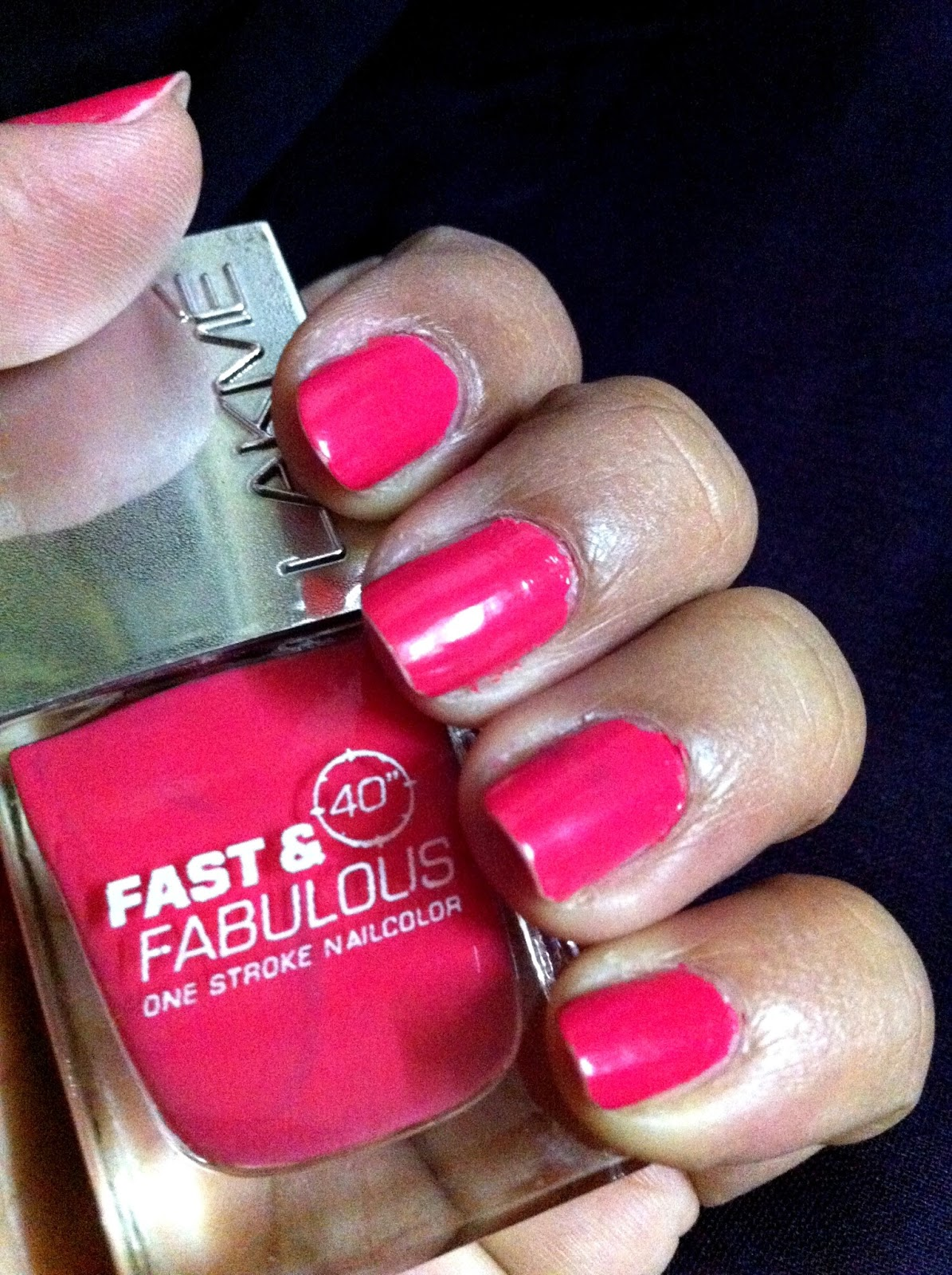 Silver Lining: Lakme Absolute Fuschia Pink Nail Polish