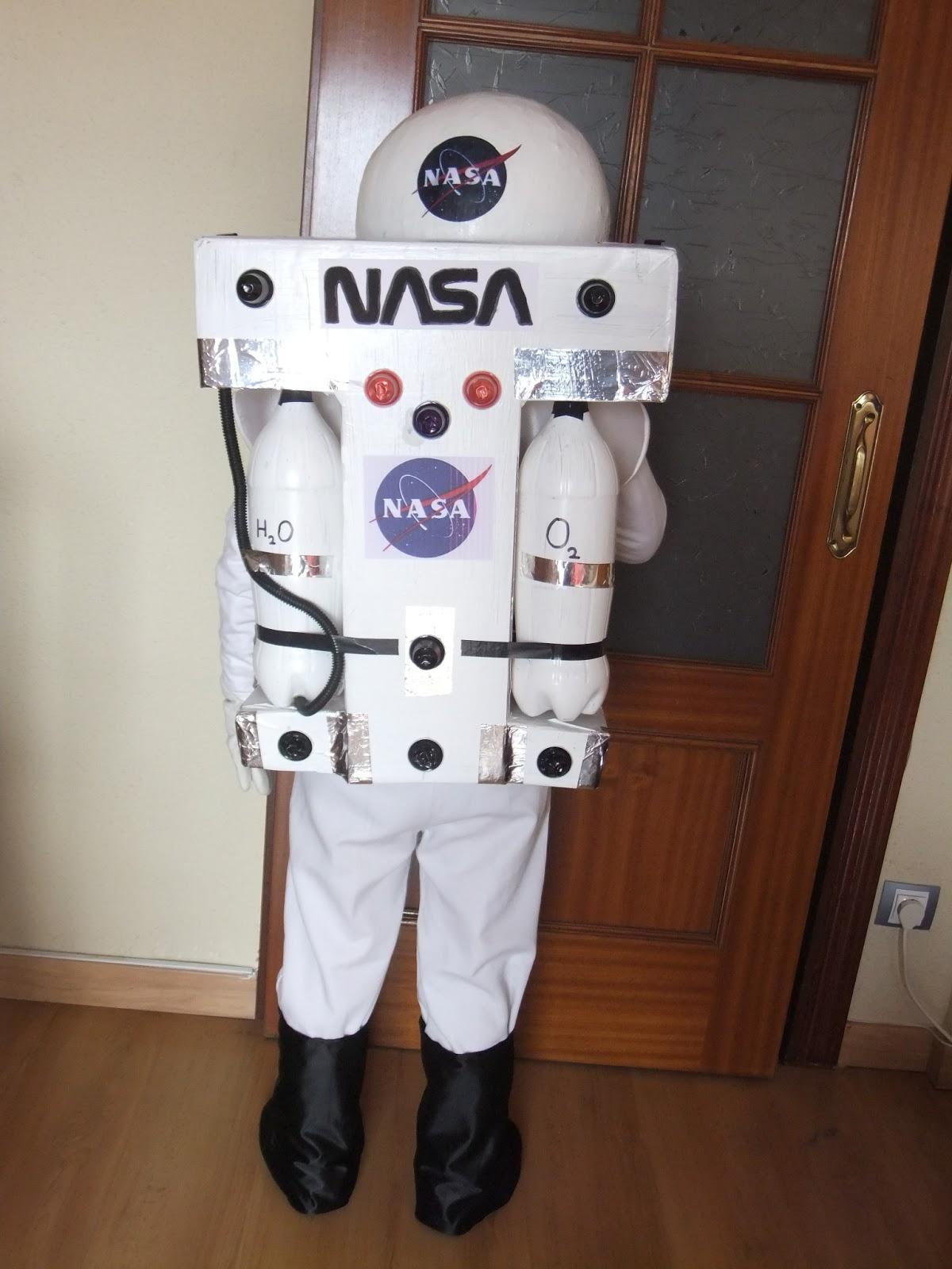 Disfraz De Astronauta Casero