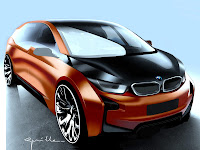 2012 BMW i3 Coupe Concept car pictures 5
