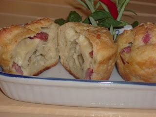 ***muffin con patate e pancetta***
