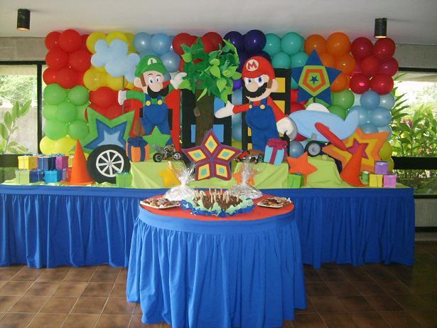 Ideas Para Fiesta De Mario Bros