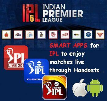 IPL 6 Smart Applications for Smart IPL Fans