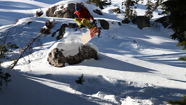 powdersurf grassroots kickflip