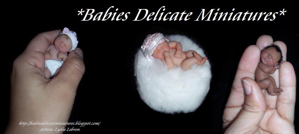 "Bebes Miniaturas""Miniature babies"""