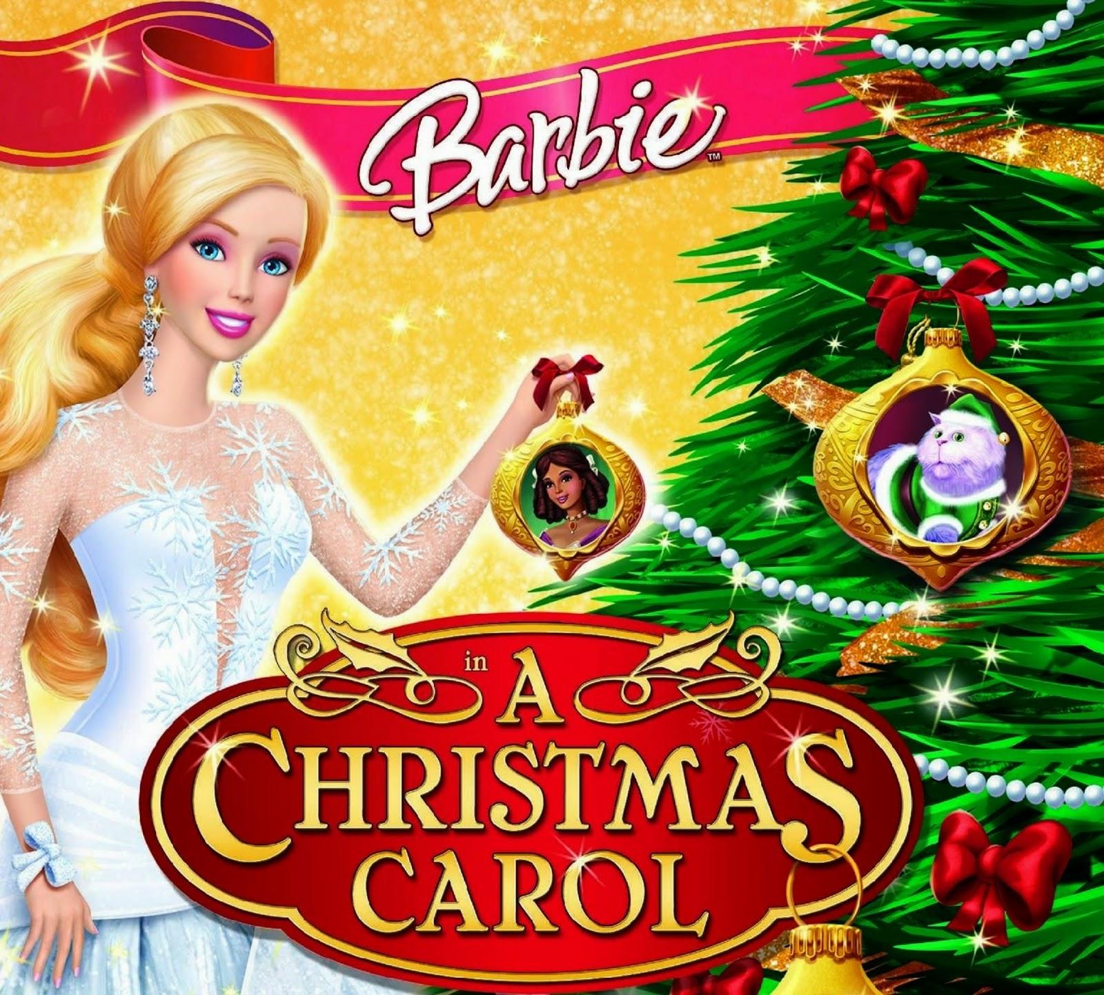 christmas carols barbie movies