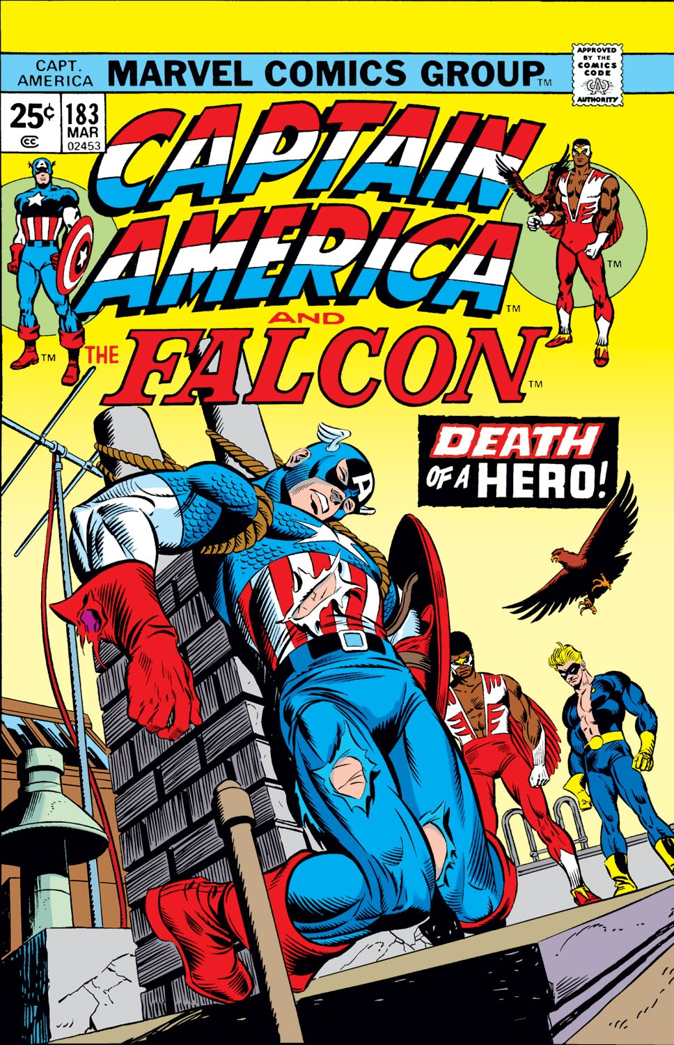 Captain America (1968) Issue #183 #97 - English 1