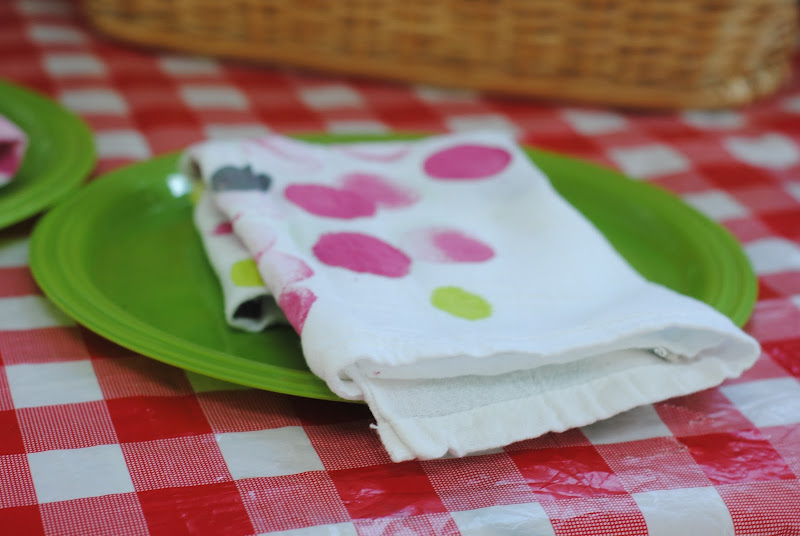 Reusable Cloth Napkins (Kids Craft Idea)