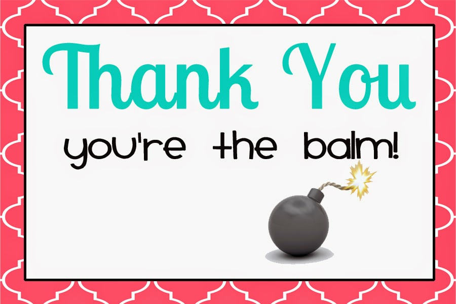 photo regarding You're the Balm Free Printable titled EOS lip balm printable present playing cards