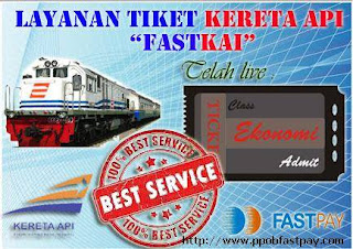 tiket kereta api ekonomi fastpay
