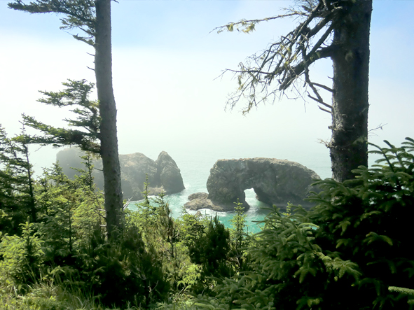 Arch Rock from Samuel H. Boardman State Scenic Corridor, Oregon