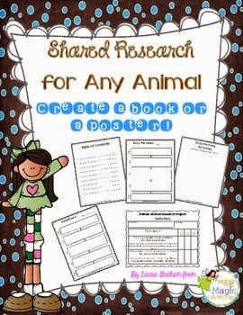 https://www.teacherspayteachers.com/Product/Shared-research-for-any-Animal-No-prep-printables-1262444