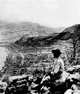 Saint-Pierre después de la erupción