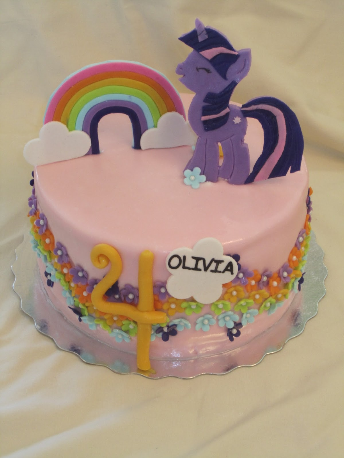 Cakesor Something Like That My Little Pony 4th Birthday Cake