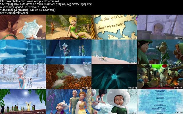 Tinker Bell y el Secreto de las Hadas DVDRip Español Latino Película de 2012