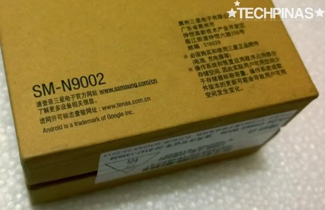Samsung Galaxy Note3 Dual SIM, Samsung Galaxy Note3 N9002