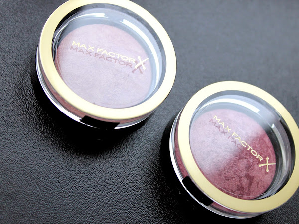 Max Factor Creme Puff Blush - Seductive Pink & Gorgeous Berries.