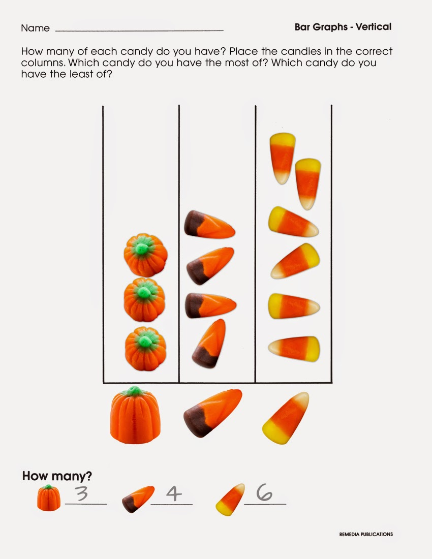 Candy Corn Graphing | Remedia Publications' Blog