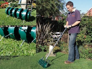 how to aerate your lawn manually