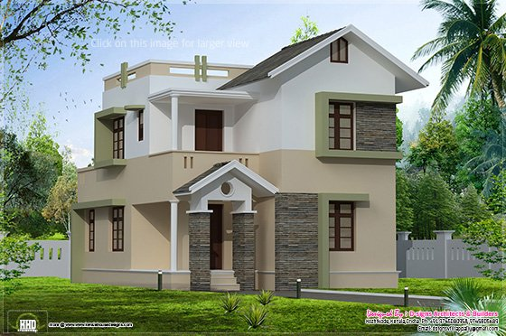 Small villa elevation