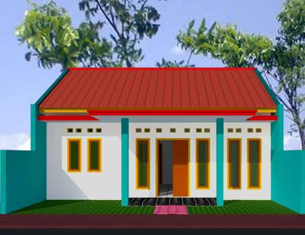 desain renovasi rumah kpr btn type 21 60 hook blog