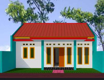 Desain Rumah Minimalis Type 21/60 Sudut 02