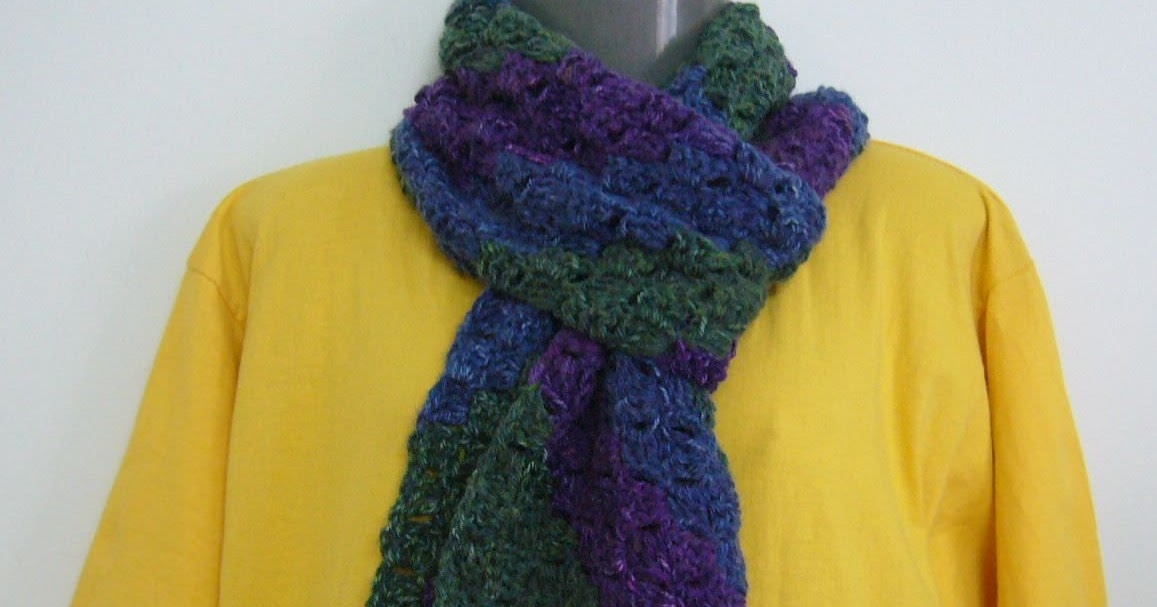 Crochetkari Crochet C2c Scarf
