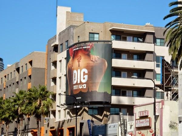 Dig series premiere billboard