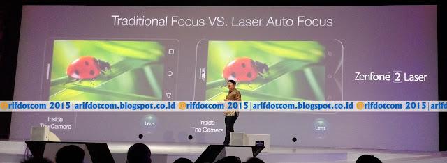 Keunggulan Zenfone 2 Laser Auto focus 0.03s termurah dikelasnya