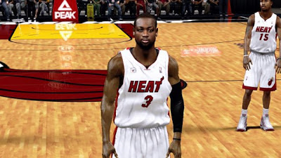 NBA 2K13 Dwyane Wade Heat Finals Updates