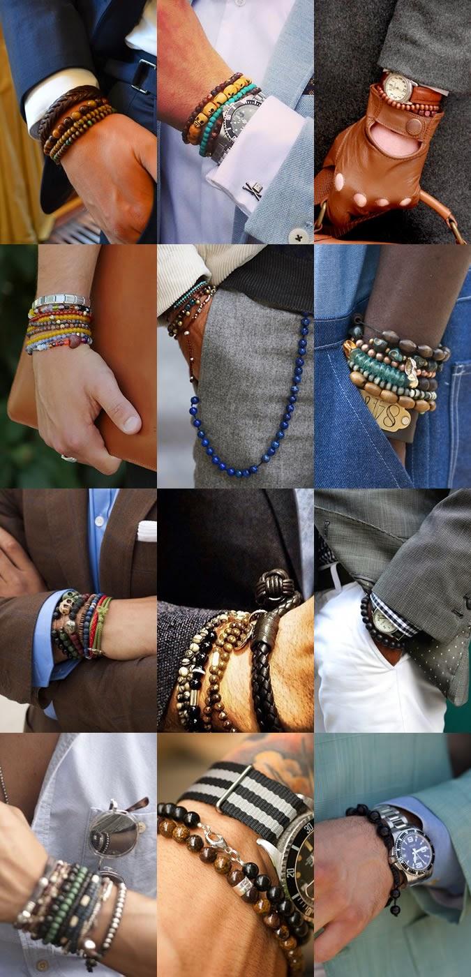 Men bracelet trend 2014