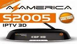 NOVA ATUALIZAÇÃO AZAMERICA S2005 HD V1.09.13934 -- 12/05/2015