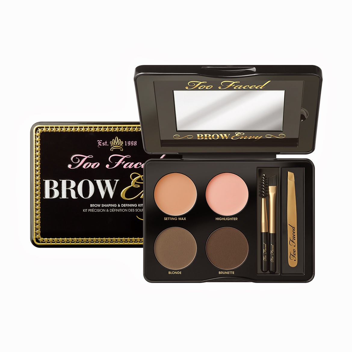 Preview: Too Faced - Brow Envy, A la mode, Bonjour Soleil, Natural Eyes, Melted