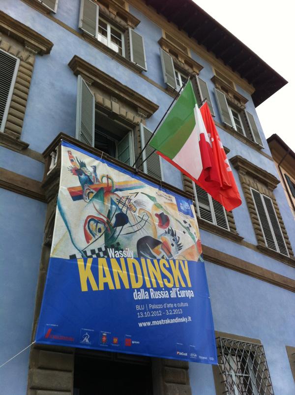 Wassily Kandinsky a Pisa