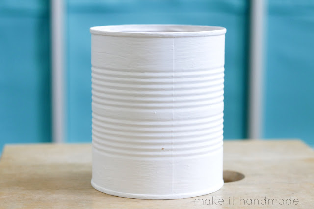 Easy Tin Can Pencil Cup From Make It Handmade