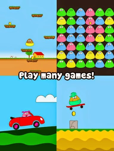 Pou free game for android