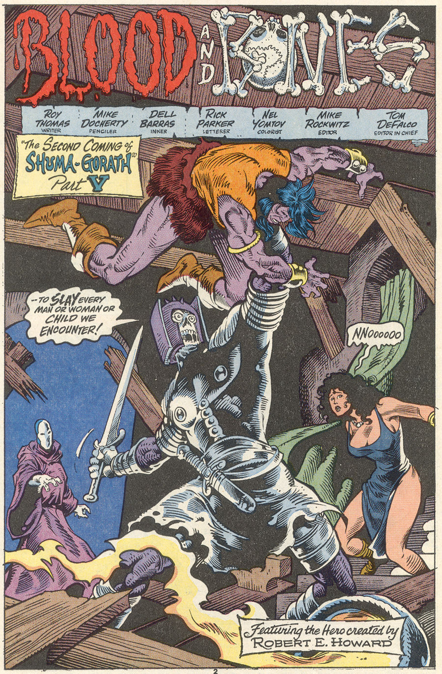 Conan the Barbarian (1970) Issue #256 #268 - English 3