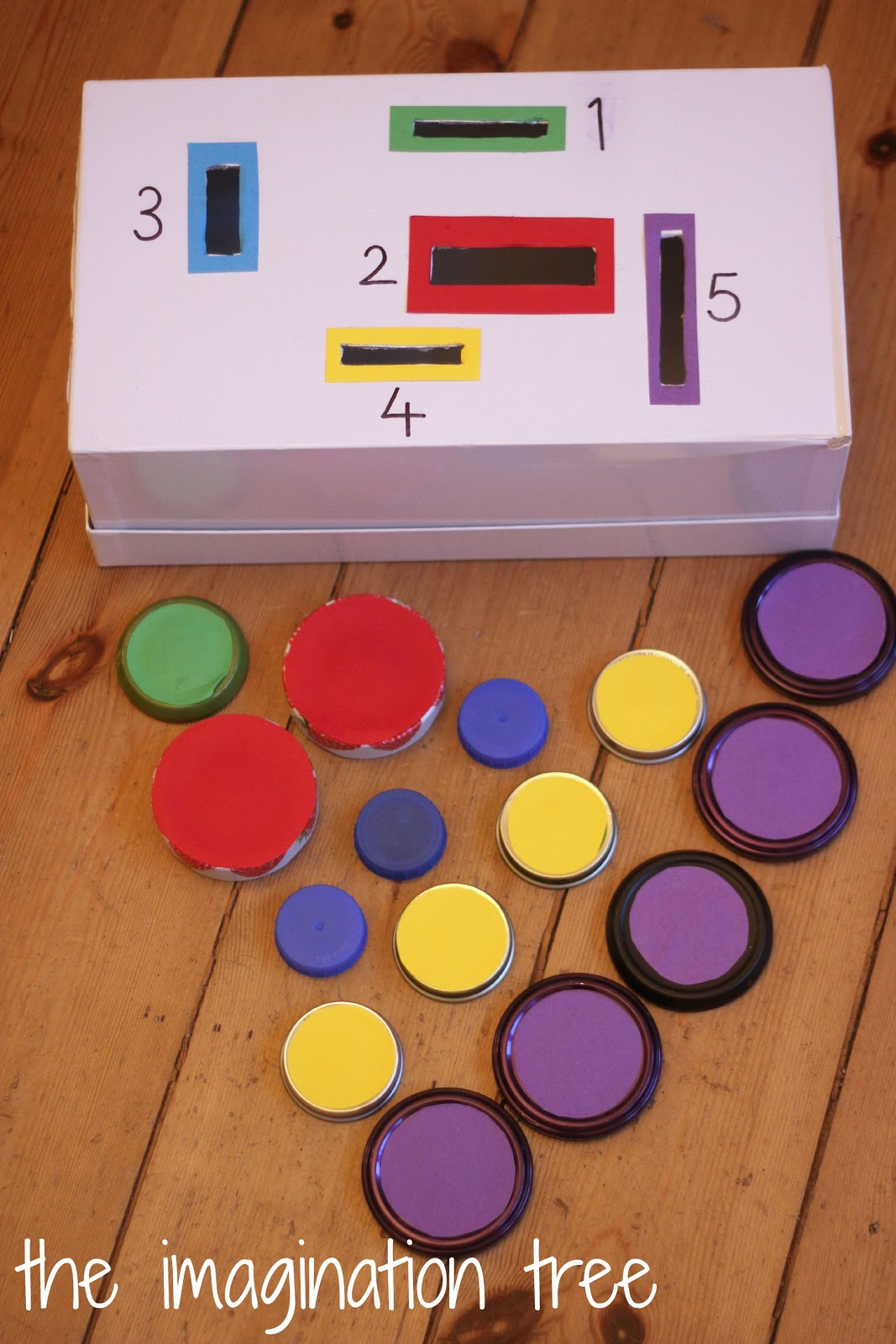 Count And Sort Posting Box Maths Game on Preschool Sorting