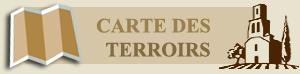 Carte Terroirs du Languedoc