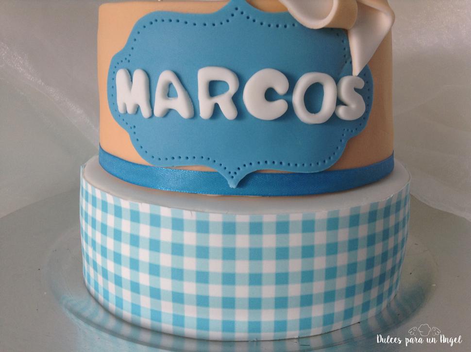 Dulces para un Angel: Tarta molinillos. MARCOS CUMPLE 9 AÑOS!!!