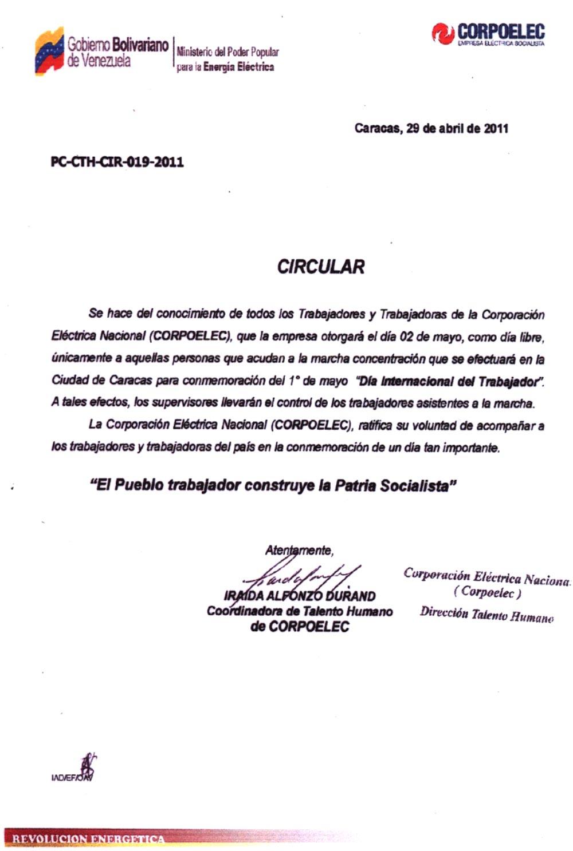 Sahara en honor a la verdad la dictatura venerada por for Solicitud de chequera banco venezuela
