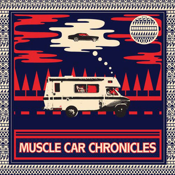 Curren$y & Sean O'Connell - Muscle Car Chronicles  Cover