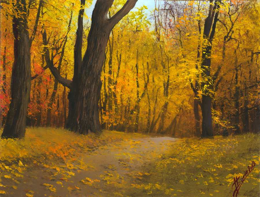 Autumn Paintings ~ Autumn Posters Picture