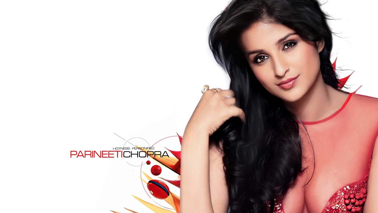 celebrity parineeti chopra red top hd wallpaper