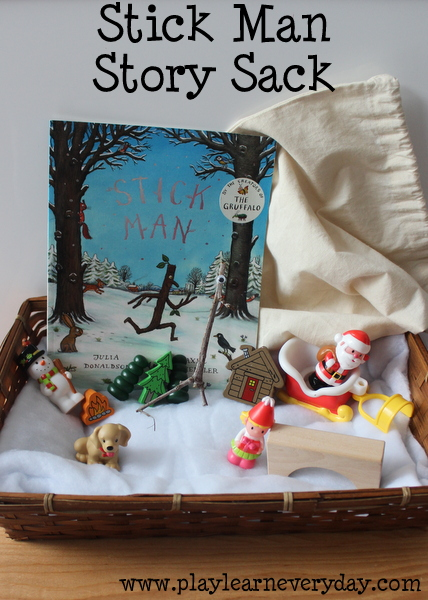 stick man story sack play and learn every day. Black Bedroom Furniture Sets. Home Design Ideas
